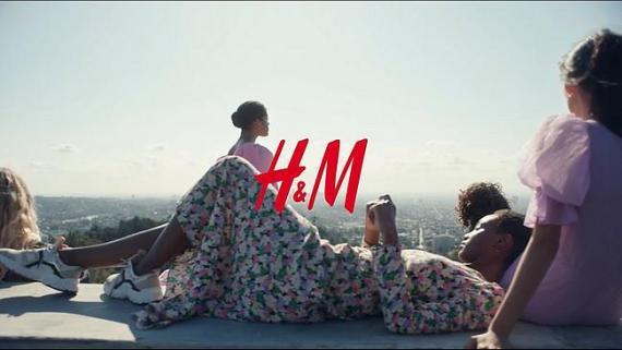 Screenshot aus H&M Nachhaltigkeit Werbung