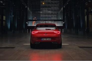 Screenshot aus Seat Leon Werbung