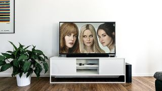 TV zeigt drei Frauen aus einer Serie