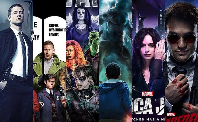 Superhelden-Serien Netflix