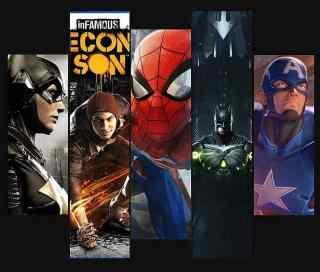 Superhelden Videospiele