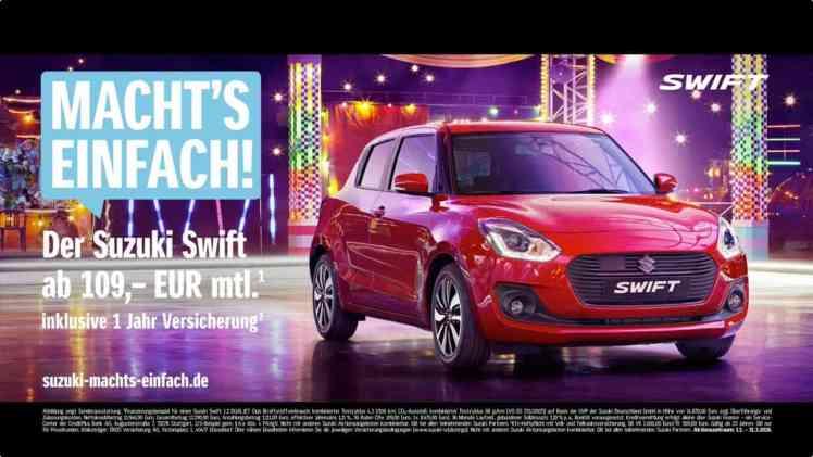 Screenshot aus Suzuki Vitara Werbung