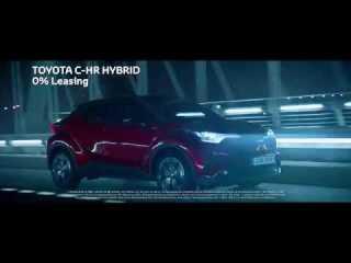 Screenshot aus Toyota C-HR Werbung