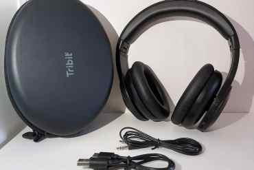 Tribit QuietPlus Kopfhörer + Zubehör