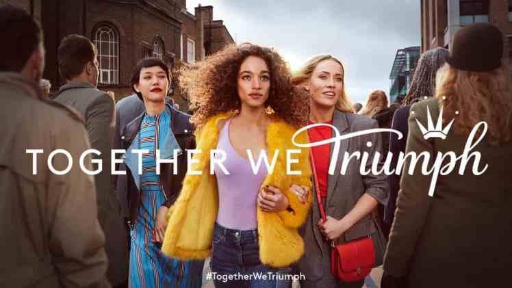 Screenshot aus Triumph Werbung
