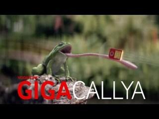 Screenshot aus Vodafone GigaCallYa Werbung