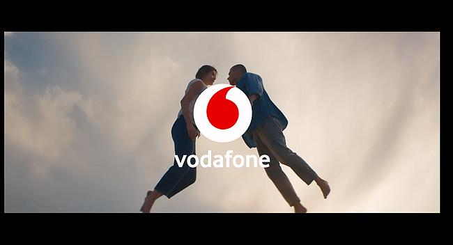 Screenshot aus Vodafone CallYa Digital Werbung
