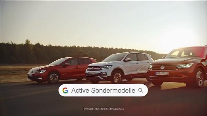 Screenshot aus der Volkswagen Werbung