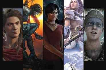 weibliche Videospielcharaktere