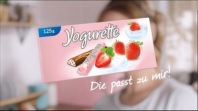 Screenshot aus Yogurette TV-Spot