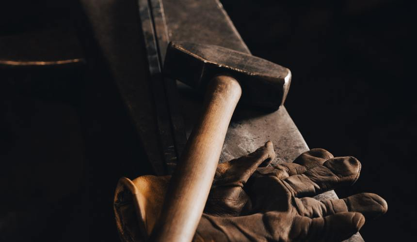 God is the Blacksmith
