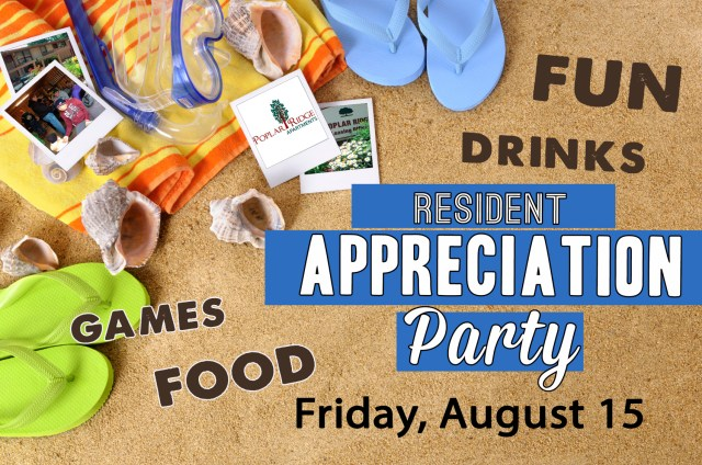 Fort Wayne Apartment Resident Appreciation Party