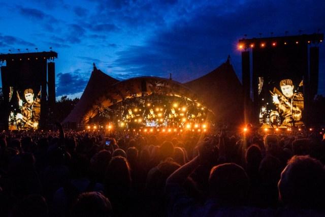 Red Hot Chili Peppers, RF16, Roskilde Festival, Orange