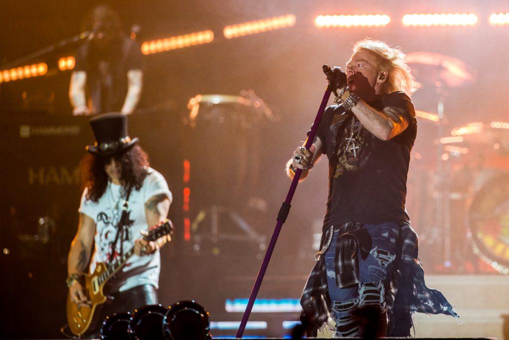 Guns N' Roses, Parken
