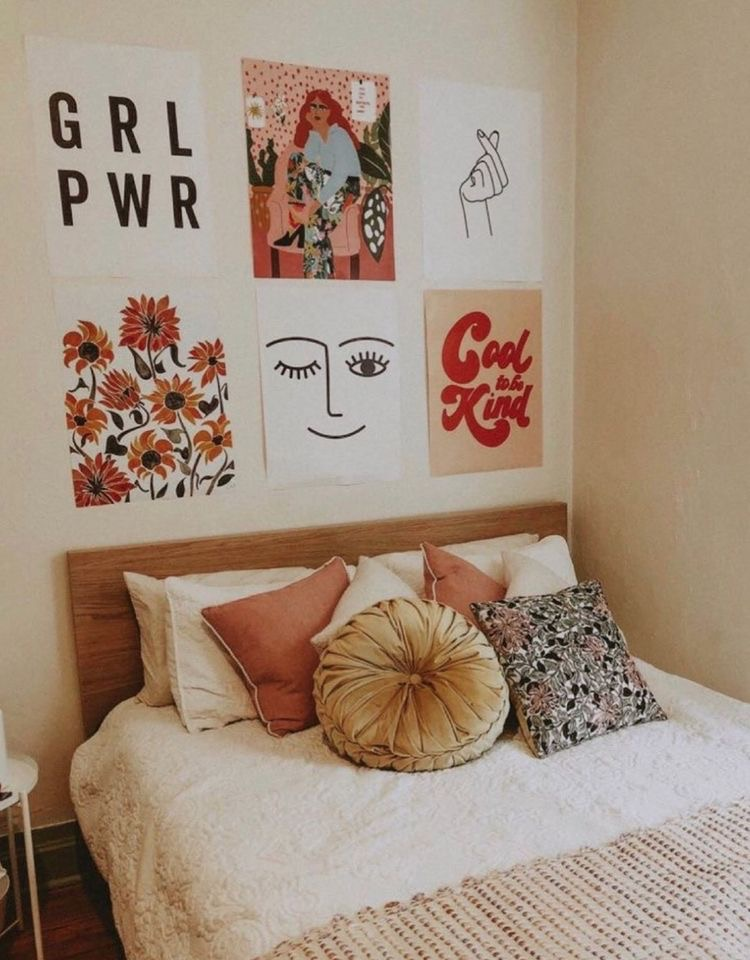 #urbanoutfitters #blush #pinkoffice #officedecor #bohooffice #summerofficerefresh | Poplolly co