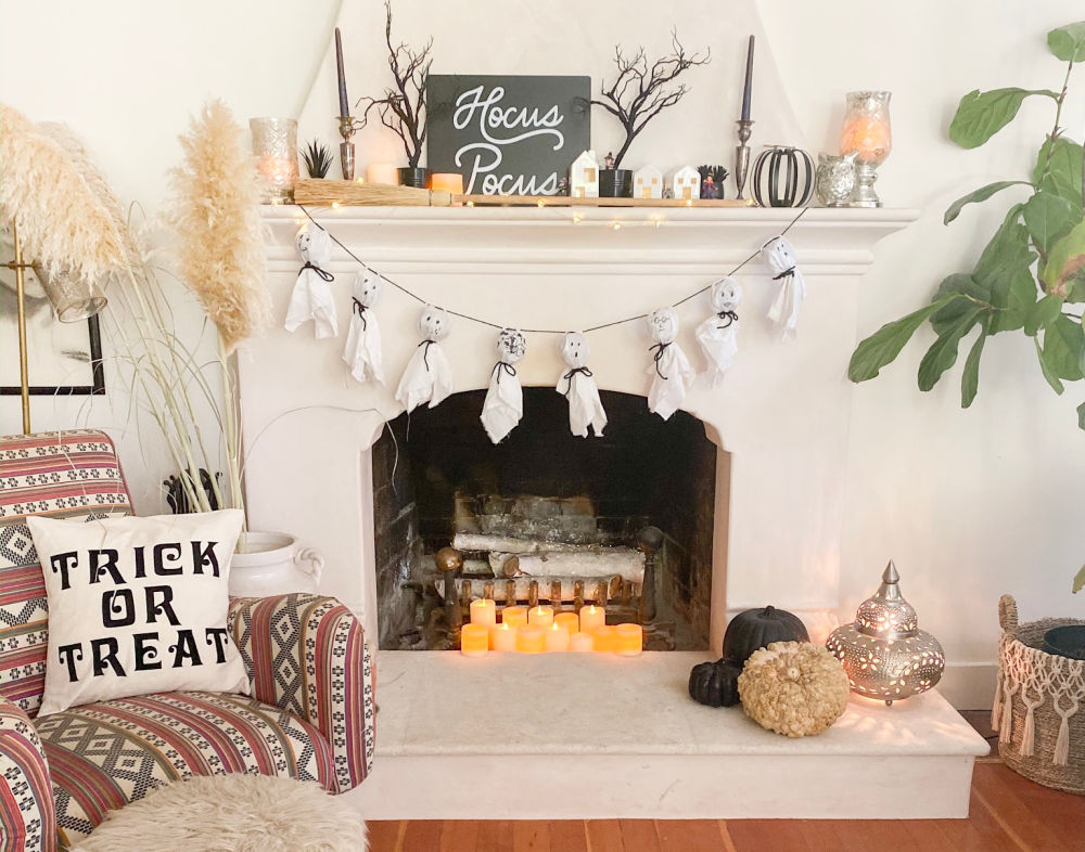 Target Finds Halloween Mantle | Poplolly co