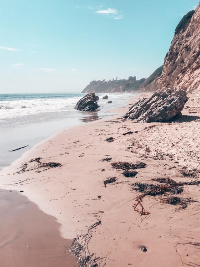 Beautiful Hendry's beach in Santa Barbara California | Poplolly co