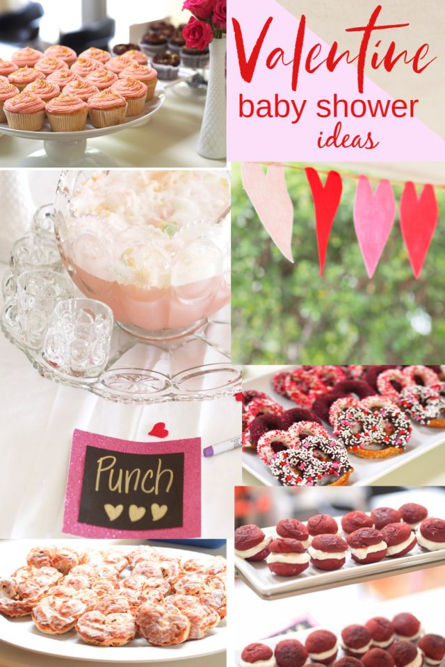 VALENTINE THEMED BABY SHOWER IDEAS | POPLOLLY CO