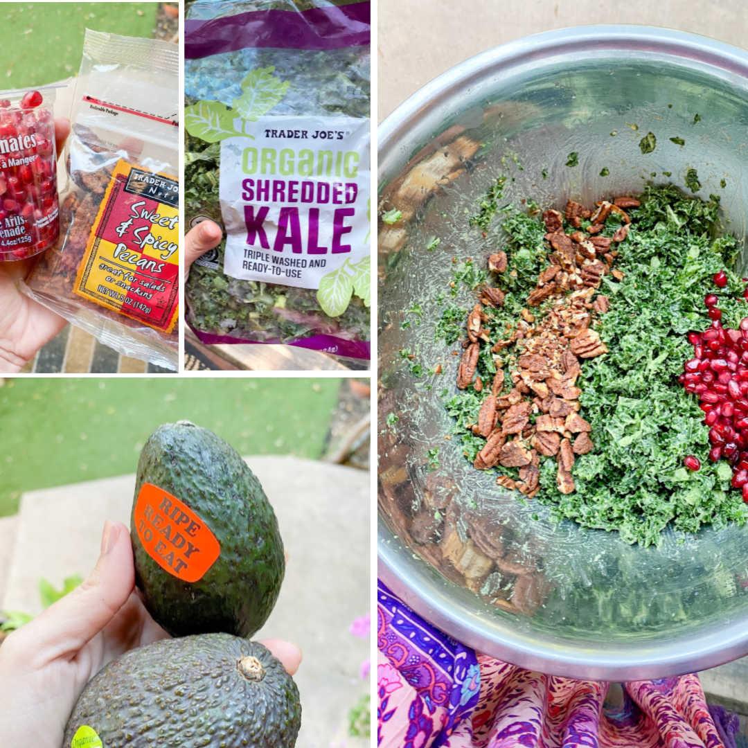 vegan avocado kale salad recipe   Poplolly co