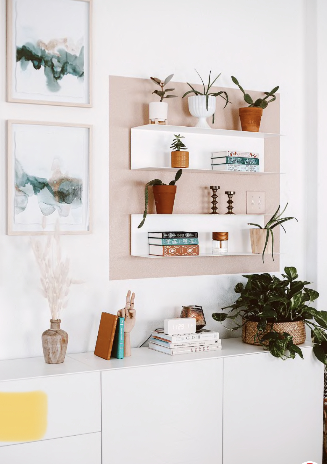 color block accent wall | Poplolly co