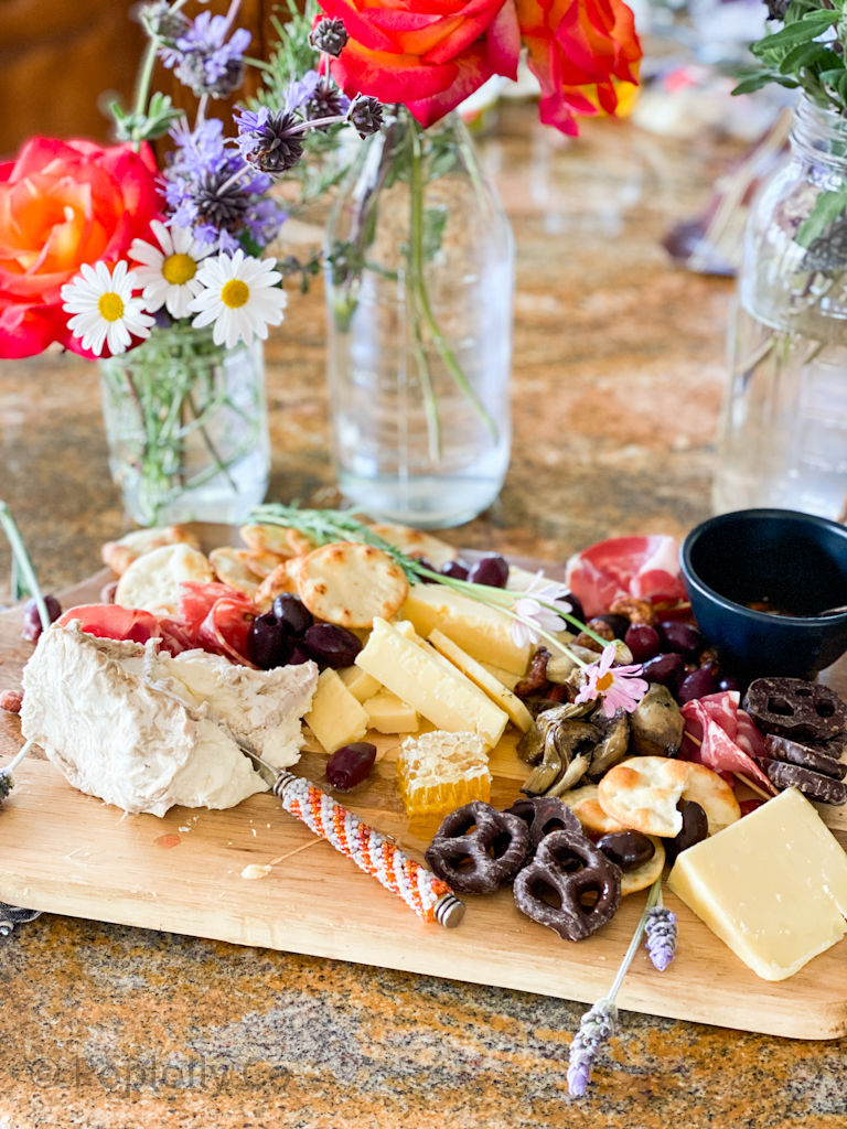 how to make a cheese and meat board | Poplolly co