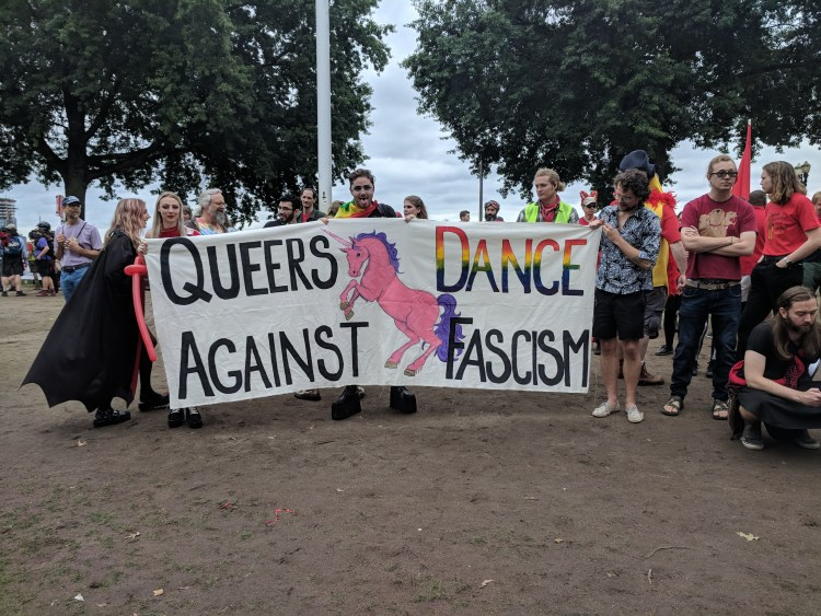 PopMob Queers Dance Against Fascism