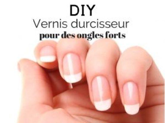diy vernis à ongles durcisseur
