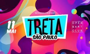 Flyer Festa Treta. Foto: Divulgação.