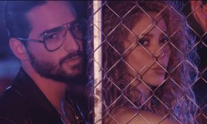 Shakira e Maluma. Foto: Reprodução/Youtube