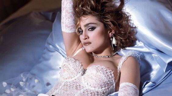 Madonna. Foto: Reprodução/Pinterest