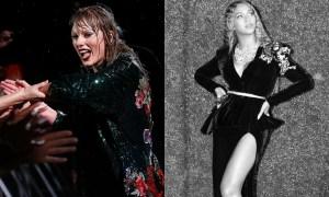 Taylor Swift e Beyoncé. Foto:Reprodução/Instagram