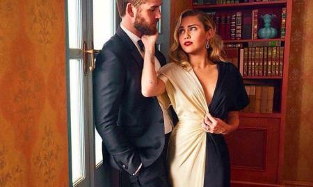 Miley Cyrus e Liam Hemsworth. Foto: Reprodução/Instagram (@ Hemsworth)