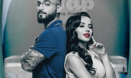 Becky G e Maluma. Foto: Divulgação