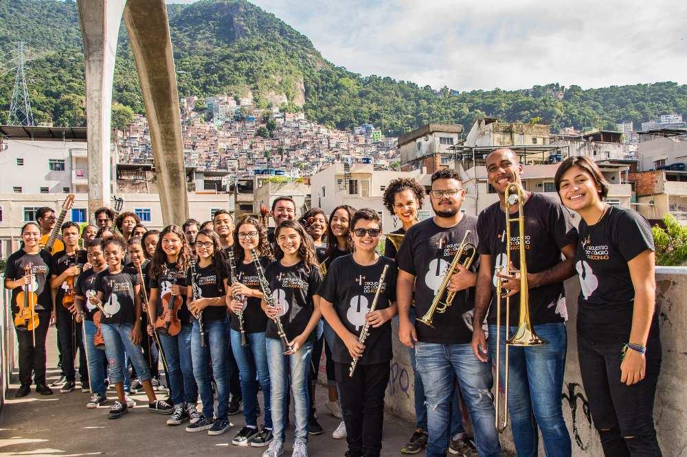 Orquestra de Câmara da Rocinha. Foto: Divulgação/Igor Siqueira