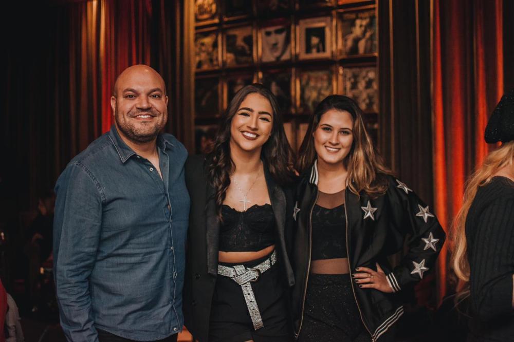 Felipe Fiorentino, Julia Joia e Beatriz Bonemer. Foto: Felipe Braga