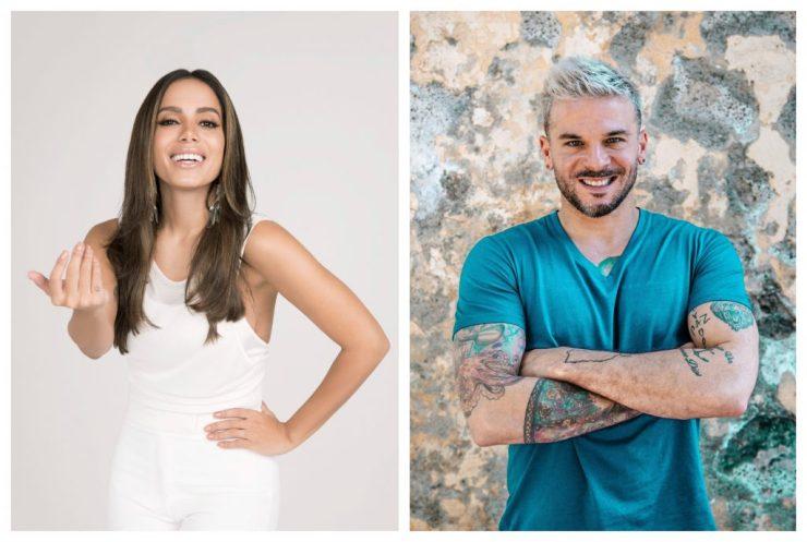 Anitta e Pedro Capó. Divulgação