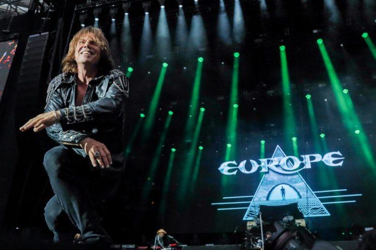 Europe. Foto: Divulgação/Ricardo Matsukawa/Mercury Concerts