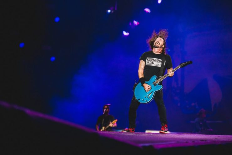 Foo Fighters. Foto: Divulgação/Wesley Allen