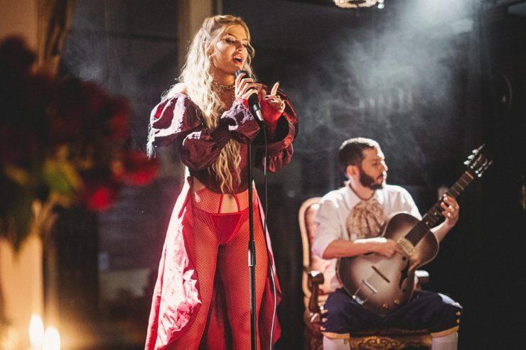 Luisa Sonza e Heavy Baile. Foto: Divulgação/Fernando Schlaepfer