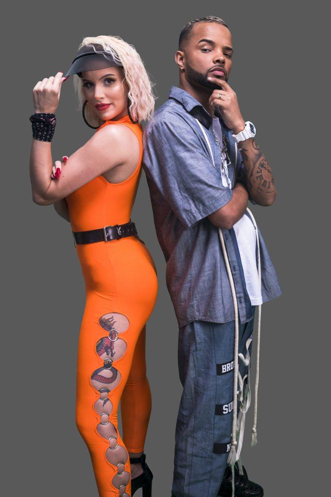 Francinne e MC Zaac. Foto: Divulgação