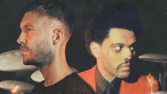 Calvin Harris e The Weeknd. Foto: Divulgação