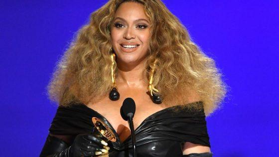 Beyoncé. Foto: Reprodução / Instagram (@recordingacademy)