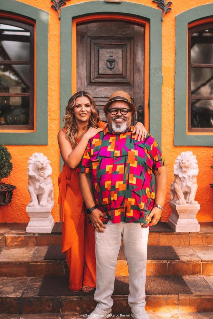 Paula Mel e Jorge Aragão. Foto: Divulgação