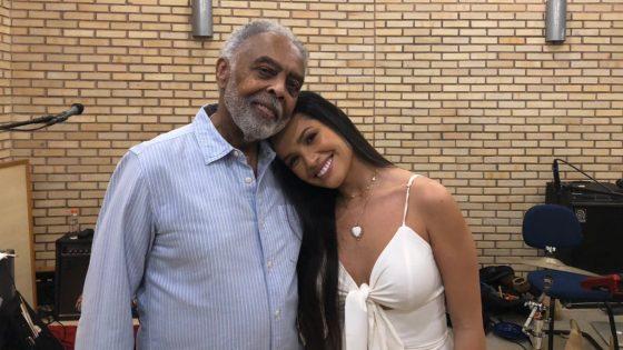 Gilberto Gil e Juliette. Foto: Divulgação
