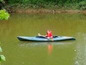 Addison kayaking.
