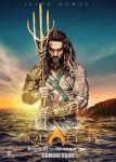 Jason Momoa celebra marca de Aquaman