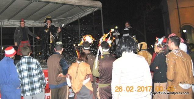 Il Sindaco consegna le Chiavi del Carnevale