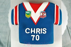 Sydney Roosters jersey cake