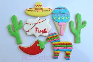 Mexican Fiesta cookies