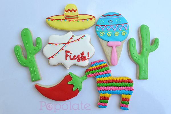 Mexican Fiesta cookies